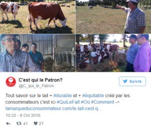 «C'est qui le patron ?!» : la brique de lait créée par les consommateurs français